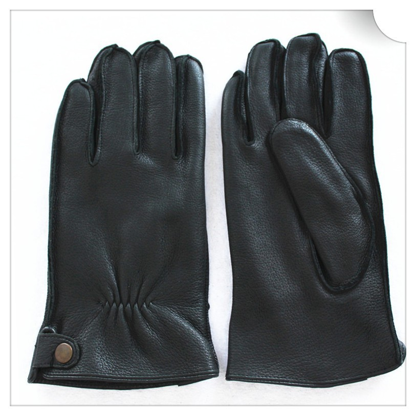 Mens deerskin leather gloves