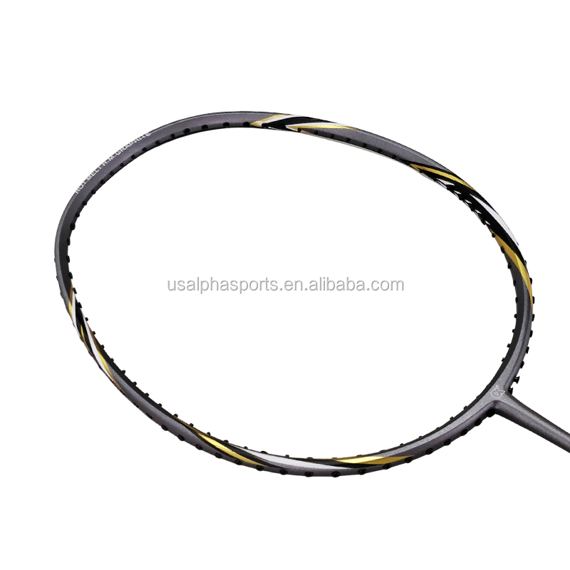Badminton racket voor Shuttle racket koolstofvezel NANO POWER 130