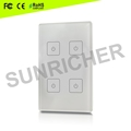 4 zones RF/WiFi Single Color LED Controller SR-2833T2