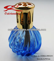 Catalytic Diffuser Effusion Lamp with Blue Glass Bottle
