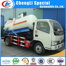 Dongfeng vacuum sewer tank truck 3000L~5000L sewage suction 3ton vacuum truck