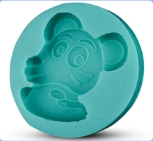 Factory direct sale mouse shaped silicone cake mold unique silicon mould with high quality