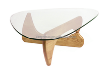 Modern fancy table frame glass tea table living room furniture