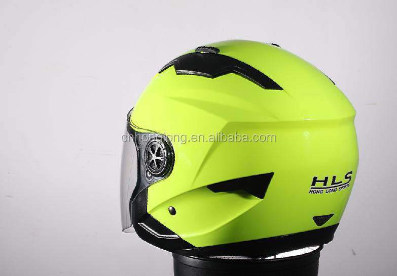 2015 New designed half face helmet with single visor---ECE/DOTcertification