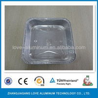 Recyclable Household Hot Best-selling Airline Disposable Aluminium Foil Food Trays