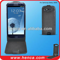 2100 MAH leather battery extender case for samsung i9300