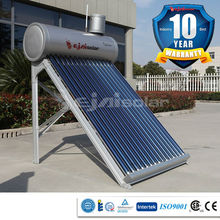 Ejai solar technology Italy market 300L pre-heated solar powered water heater, with copper coil heat exchanger