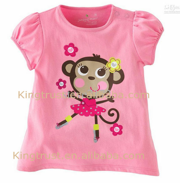 Boys/girls inner comfortable t-shirts soft cotton high quality short sleeve children's wear