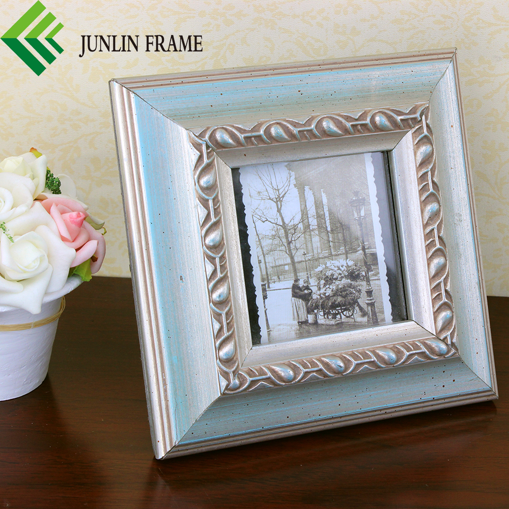 China wholesale solid wood 3*3 photo frames designs