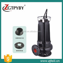 sewage lifting transfer pump grinder submersible pump