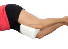Orthopedic Knee Pillow, Memory Foam Wedge Contour