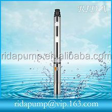 2 inch 3 inch diameter water submersible deep well pump