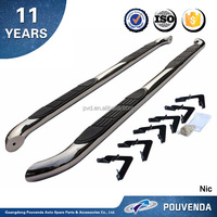High Quality Stainless Steel Running board For TOYOTA Tacoma 2005-2015 Side Step Bars Pickup Auto accessories from pouvenda