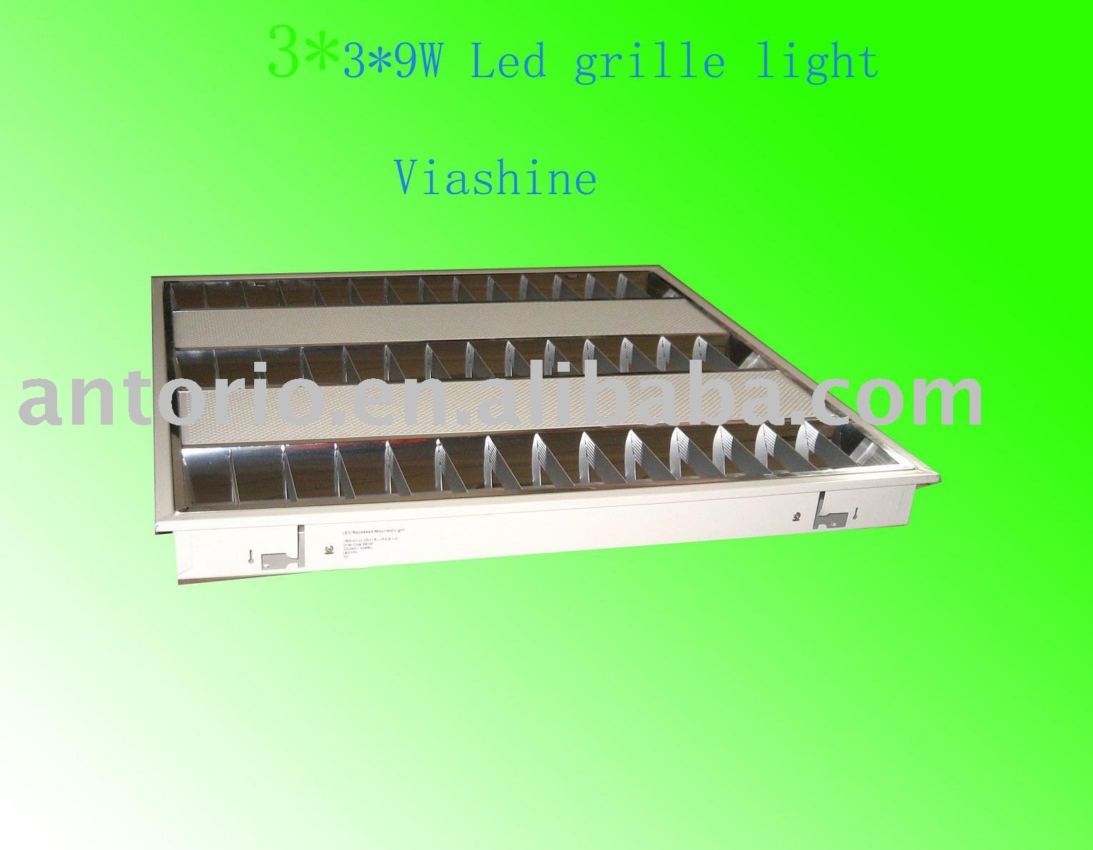 27w t8 led grille lighting