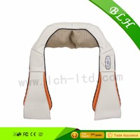 Massage Roller Muscles Kneading Massager for Neck Shoulder and Back Pain Relief. Shiatsu Deep Tissue Massage with Heat