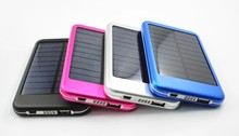 Solar power bank charger battery portable mobile power