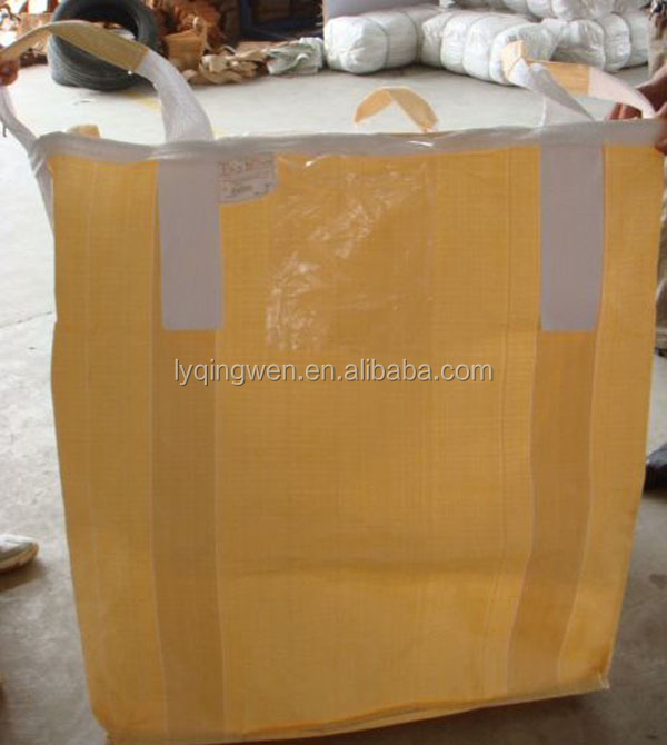 1000kg PP bulk bag with 5:1 safety factor packing for chemical and transportation,heavy goods and so on