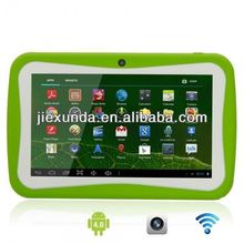 7 inch allwinner A13 512M 4GB Kids Tablets for kid Children Tablet PC with Study Software Free Provide Multi-language