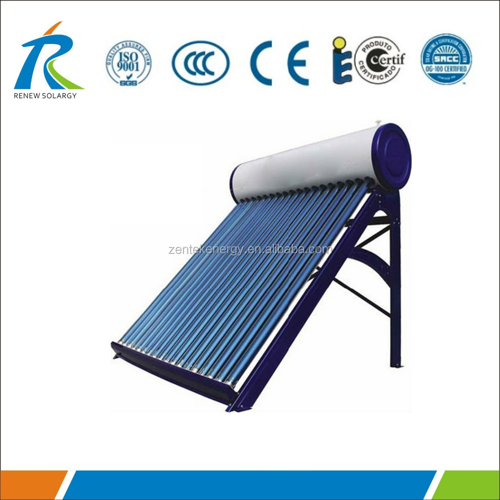 Compact Solar Thermal Heating System (home use)