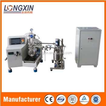 Longxin Professional Lab Fast Flow Nano Bead Mill for Zirconia Grinding (WSP-0.5)