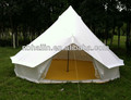 Factory sale white or colored canvas bell tent indian tent teepee tents Oxford bell tent