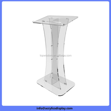 Newly top quality cheap acrylic podium dais lectern
