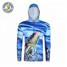Custom Performance Fishing Tournament Tee Shirt , Men Sublimation Sport Fishing Clothes