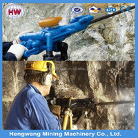 Hydraulic rock drill to drill deep blast holes with hole diameter 45-102 mm