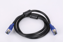 High quality 3+6 nickle-plated HD15pin computer vga cable 30m