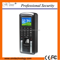 Cheapest TCP/IP USB fingerprint and card time attendance and access control system support arabic language software