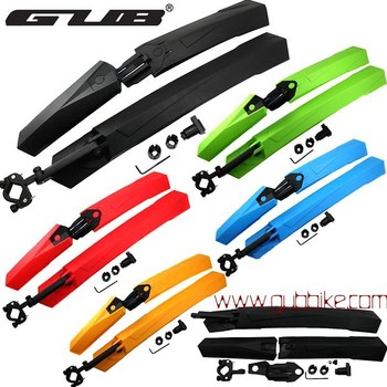 Hot selling GUB 889 26er mountain bike mudguard 26er quick release MTB bicycle mudguard plastic material wholesale