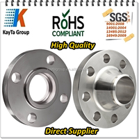 China supplier high quality custom aluminum stainless steel pipe flanges