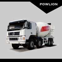 DY Special vehicle (Mixer truck DYX5310) 8x4 (336ps)
