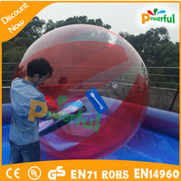 inflatable floating water walking ball pool game