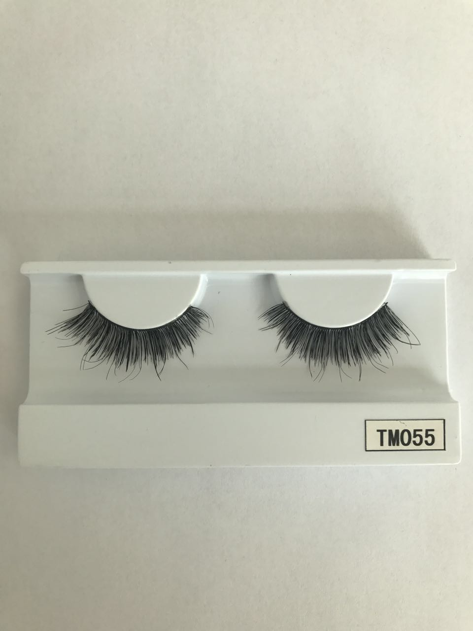 Premium natural 3D human hair false eye lashes with custom packaging