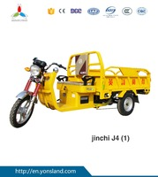 Electric motorcycle motor truck cargo tricycle with big cabin