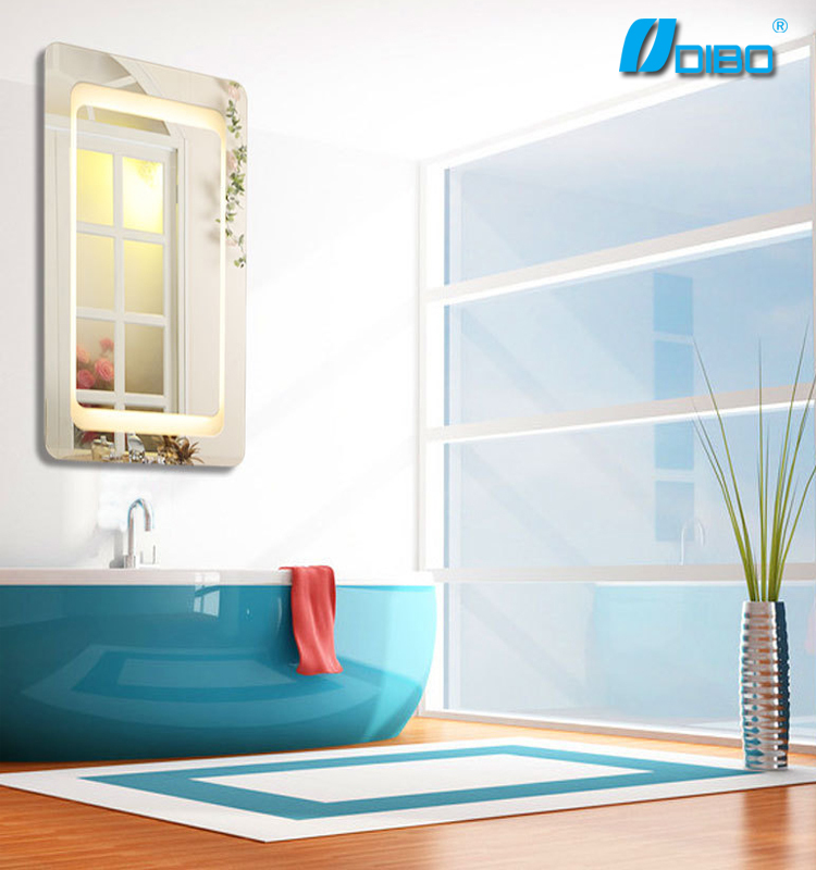 Color dimmable LED bathroom mirror on sale in Foshan