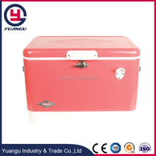 51L steel locking cooler box wholesale