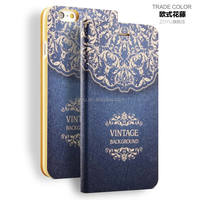 Best desigh leather cell phone case for iphone 6 plus 4.7,for iphone 6 case wallet