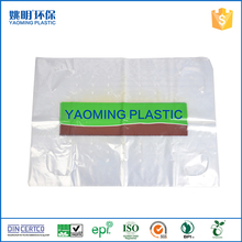 Custom printing plastic flat poly bags with air hole