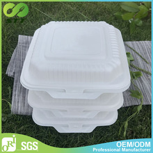 Cheap biodegradable disposable food container made by Chinese factory