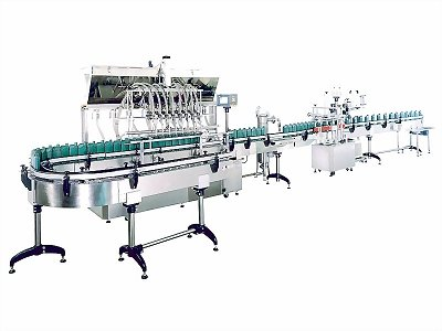 Automatic Rotary beverage, chemical, food Filling Machine