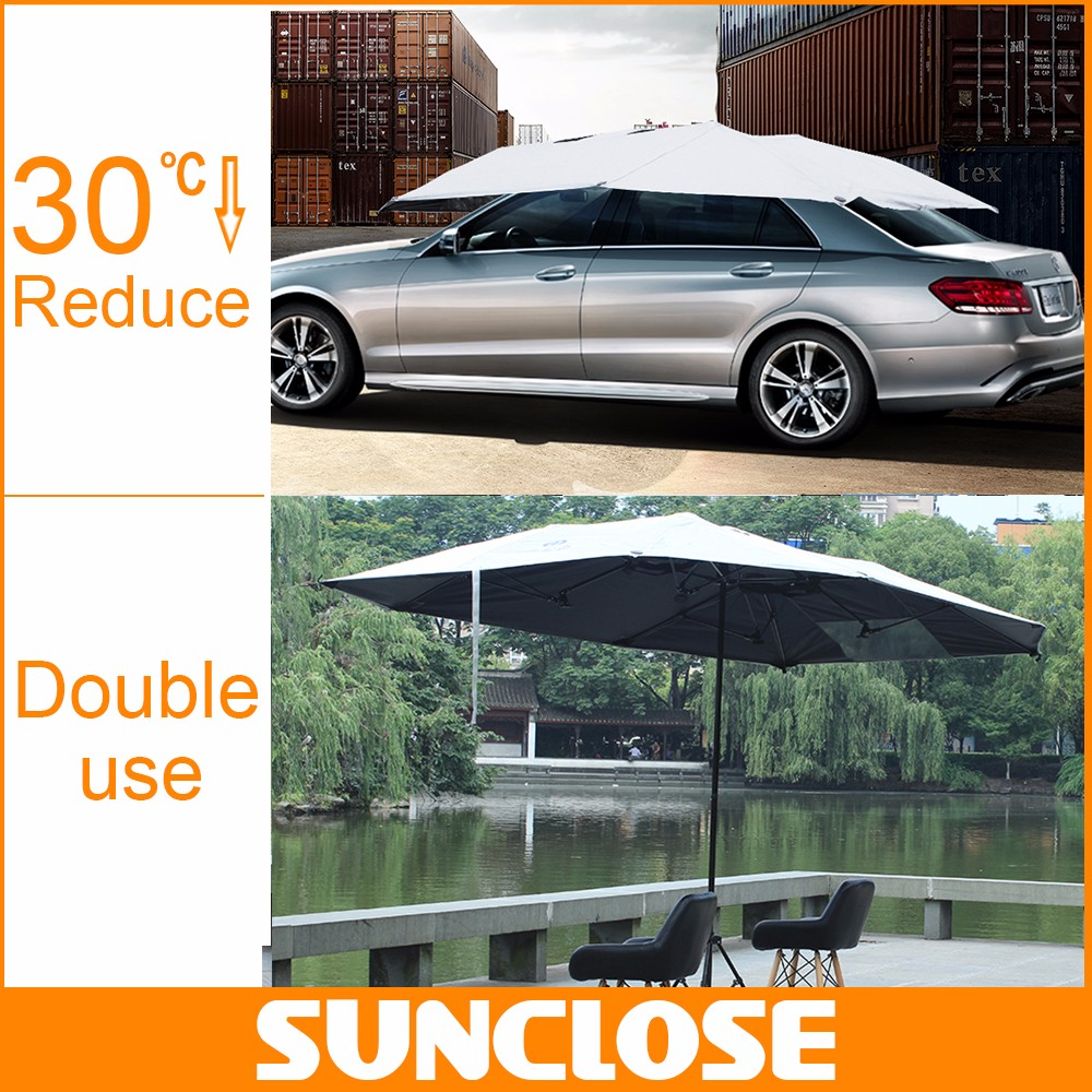SUNCLOSE All weather proof steel frame carport parts