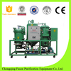Black oil cleaning Used Oil Purification/waste motor oil separator recovery centrfugue