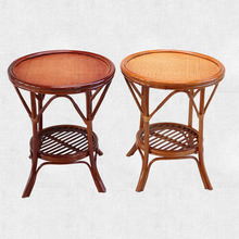 Natural true cane handmade cane modern art style tea table small side table rattan <strong>furniture</strong>