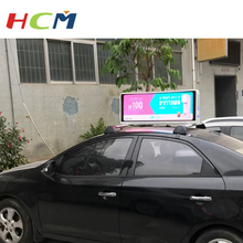 Taxi Top P4 P5 LED Digital Display Full Color 3G WIFI GPS Outdoor Taxi Top Moving Advertising Billboard