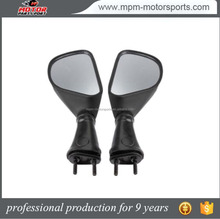 Motorcycle Side Mirror Black For Kawasaki zx6r