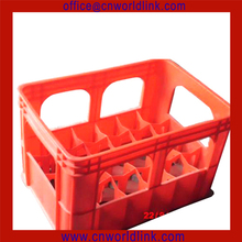 2013 Red Plastic Bottle Crate