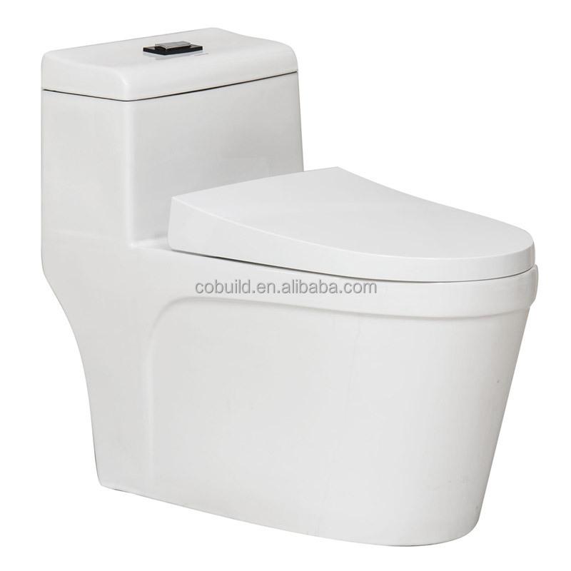 Bathroom Design Soft Seat Cover One Piece Ceramic Toilet Buy Ceramic Toilet