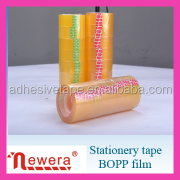 Bopp/opp acrylic material adhesive Stationery tape for office usage